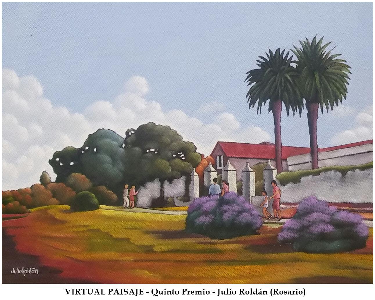 VirtualPaisaje - QuintoPremio - Julio Roldan
