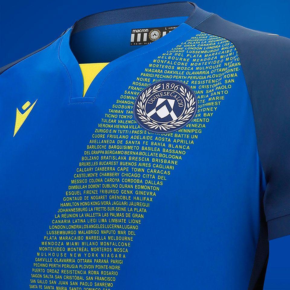 camiseta udinese 2